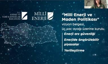 """Merve KAÇMAZ """"-Yeni Normalleşme Döneminde Enerji Piyasaları Yönetimi"""""""