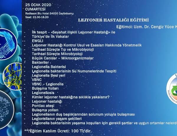 UTTMD LEJYONER HASTALIĞI EĞİTİMİ